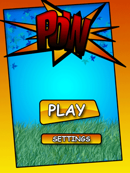 Pow screen from Mike Berg class